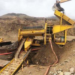 Professionelle Fabrik Diamant Tantalit Mobile Waschanlage Gold Mining Machine