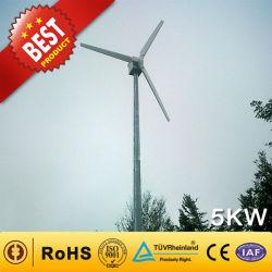 5KW Gerador eólico da China Fabricante (Gerador de turbina eólica 90W-300KW) 5Kw Turbina Eólica energia eólica para 5Kw Home Use o moinho de vento do sistema