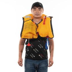 CE approuvé 150n de la bouée 33g de CO2 Gilet de sauvetage gonflable Gilet de sauvetage de la sécurité des équipements marins à bouée de sauvetage de produit