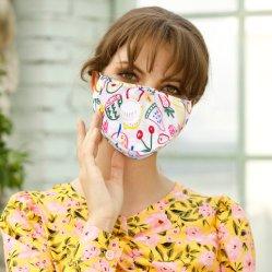 Anti-Dust Pm2.5 Máscara de protecção do filtro de carbono ativo Máscara de boca de moda personalizada