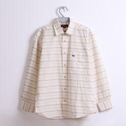 Vendita all'ingrosso T/C Stripe Long Sleeve Casual uomo Camicie Cina Fabbrica