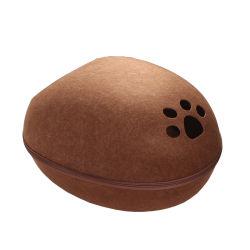Factory Direct poliestere feltro fare come requisito Commercio PET Bed Couch Cave