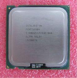 Einkernige Intel Pentium 4 CPU 520 2.8GHz 800MHz 1MB S775