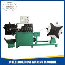 Verrouillage du tuyau d'échappement certifié de la Chine en métal flexible conduit flexible de verrouillage de décisions Prix machine de formage