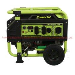 Nouveau Style Hotsale puissant Accueil 10kw Utilisation d'essence de groupe électrogène (PG13000par/E) avec poignée et roues par l'essence des moteurs de l'EPA