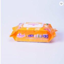 Hot Pack 80pcs/tissu humide à usage unique de l'expurgation de tissu humide OEM