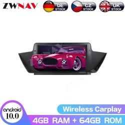 Aluguer de DVD multimídia para BMW X1 Series E84 2009-2013 Navi GPS veicular rádio Áudio