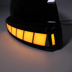 2012-2019년 순찰 경비대원을%s LED를 가진 Ycsunz 픽업 부속품 아BS 검정 사이드 미러 변죽 T6 T7 T8 또는 Everest 2015년