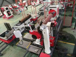 El adaptador de tubería y la estación de trabajo de soldadura