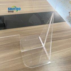 Un comptoir de plexiglas bouclier anti acrylique éternuez gardes caissier