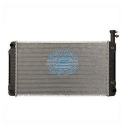 Automobile di alluminio Chrysler automatica dello scambiatore di calore del refrigeratore che corre radiatore per Chevrolet 04-12 1500 espresso