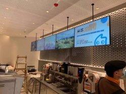 Carteles inteligentes reproductores de medios de comunicación digital de la publicidad de la Junta de menú
