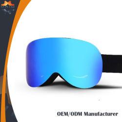 OEM AntiBeschermende brillen van de Sneeuw van de Beschermende brillen van de Ski van de Lens van de Douane van de Mist de Frameless Gepolariseerde Magnetische