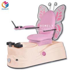 Salão de esmalte de unha de equipamento de beleza Spa Manicure Pedicure Tubulação Chairsno Kid Crianças Massagem