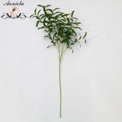 أوراق زيتون بلاستيكية طبيعية اصطناعية أوراق حرير نباتي الشكل