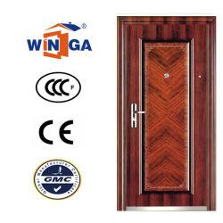 مادة رقيقة حماية مفردة الحديد الخشب الباب W-S-160