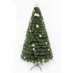 5FT Multicolor Árvore de Fibra Ótica Mini decorativas decorações de árvore de Natal