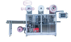 UL220 不織布ニードルパンチスチームアイマスク包装機械