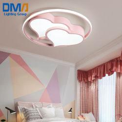 لون زهري/أزرق تركيبة خفيفة السقف مصباح LED ديكور غرفة الطفل