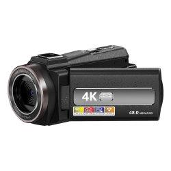 Цифровая видеокамера Max 48MP дешевые 4K цифровая видеокамера с 3,0-дюймовый экран IPS
