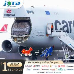 Professional Air/Sea Shipping Logística Transportesdoor transportista a la puerta de la aduana de agente de carga aérea desde China hasta el aeropuerto de Portela de Lisboa Portugal