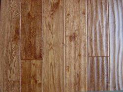 Oak angustiado de mão pisos de madeira de acácia pisos de madeira sólida