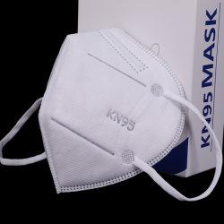 5 maschera di protezione non tessuta Labor a gettare del tessuto FFP2 KN95 di protezione di strato in azione