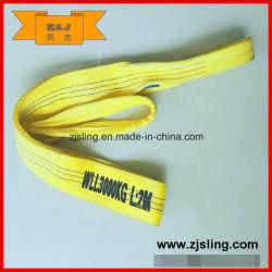 ポリエステル平らなウェビングの吊り鎖3t X2m (長さはカスタマイズすることができる)
