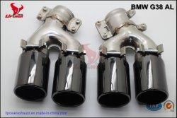 Les performances de gros tuyau en acier inoxydable 304 Pointe d'Échappement, Échappement, la tête du silencieux du tuyau d'Échappement, Échappement silencieux pour 2018-19 BMW Série 5 G30 G38 525/530/535