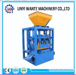 Qt4-24 Beton/Cement/de Baksteen/het Blok die van het Zand Machine voor Woningbouw maken