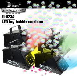 Fumo della fase della macchina di effetto della bolla della nebbia di cerimonia nuziale DMX LED & strumentazione del ventilatore dello spruzzo delle bolle insieme