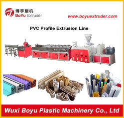 Le bois composite de la ligne de production de profil en plastique/WPC Extrusion de profil