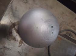 鋳鉄のトレーニングの砲丸投げ投球
