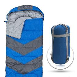 多機能の独身者の屋外の携帯用軽量のエンベロプ旅行寝袋