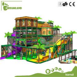 Campo da giuoco dell'interno molle del caffè del campo da giuoco dei bambini della grande strumentazione divertente dell'interno commerciale del parco di divertimenti per i capretti