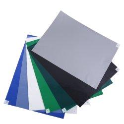 クリーンルームのための産業青い除去の防塵の付着力の使い捨て可能な粘着性のゴムESD粘着性がある床のマット