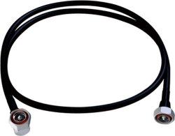 "El cable coaxial RF ensamblado con tornillos de 3/8"" Super Flexible Cable RF N hembra a macho ángulo N"