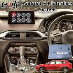 Android мультимедийных видео интерфейс для Mazda CX-9 Car Mzd подключите с помощью системы навигации GPS 6