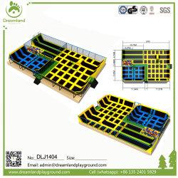 전문 상업 대형 실내/실외 대용량 트램폴린 공원 점프 소프트 베드, 스카이 존 트램폴린