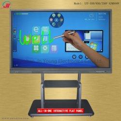 55 65 75 86 98 pulgadas con pantalla táctil interactiva Pizarra electrónica televisor inteligente de pantalla plana de pantalla de equipo para la reunión de la Conferencia Pedagogía educación (3)