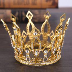 方法水晶装飾的な王冠の結婚式の宝石類のアクセサリのティアラ