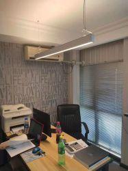 Kalte des Weiß-6000K LED lineare hängende moderne elegante Beleuchtung Aufhebung-der Deckenleuchte-LED für Supermarkt