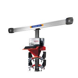 Ajuste manual de la cámara 3D coche alineador de ruedas con CE