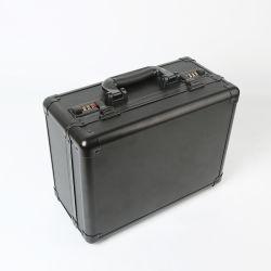 De draagbare Koffer van het Aluminium van het Combinatieslot van de Middelgrote Grootte van de Veiligheid Met het Comité van het Aluminium voor Kort Kanon