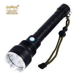 Алюминий размера 18650 аварийный ручной стиль высокой мощности USB аккумулятор тактический светодиодный фонарик фонарик