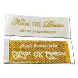 Метки метки на наклейке Одежда Одежда на ярлыке метки Label тканого этикетки