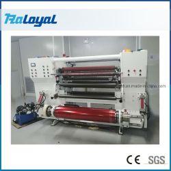 고속 슬로팅 리와인딩 기계 용지 스티커, PVC 필름