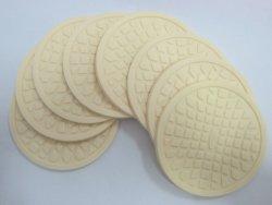 Bebidas de Silicone Coasters, Tabela Inicial Cup Mat criativa decoração Placemat de bebida do café