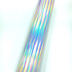 A transferência de calor iridiscente película holográfica vinil DIY Filme de Corte