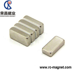 小型サイズのモーターのためのカスタム強いネオジムのブロックの磁石